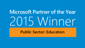 Microsoft Partner of the Year 2015 Public Sector Education