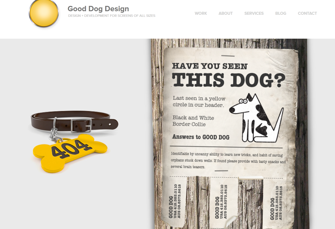 Screenshot_2019-06-07 Lost Dog Good Dog Design